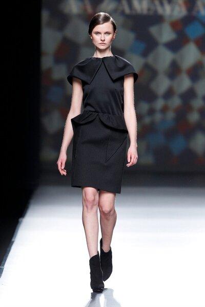 Amaya Arzuaga Otoño/Invierno 2014. Foto: Mercedes Fashion Week Madrid