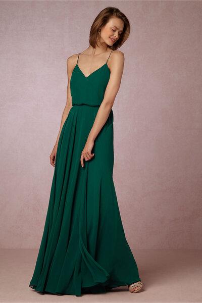 Emerald green wedding dresses 2017