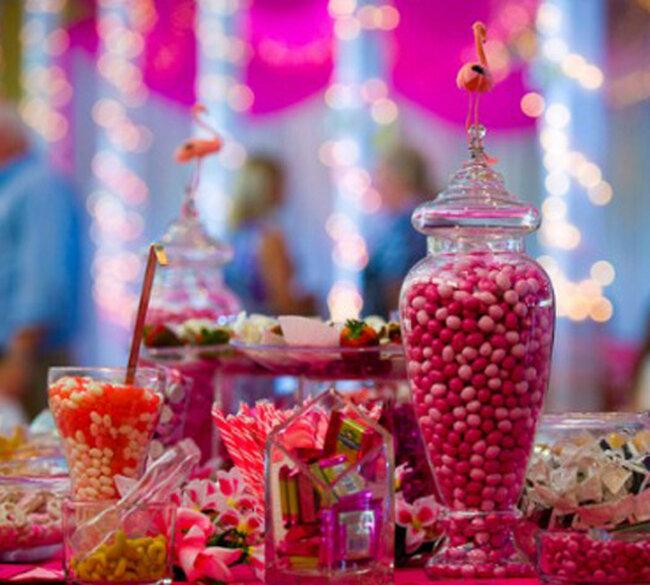 Décoration avec des bonbons