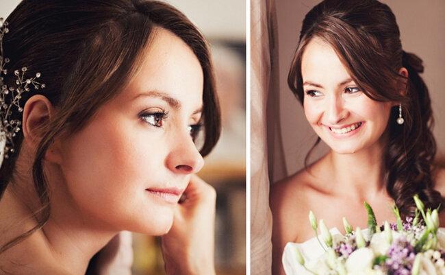 Aretes para novia