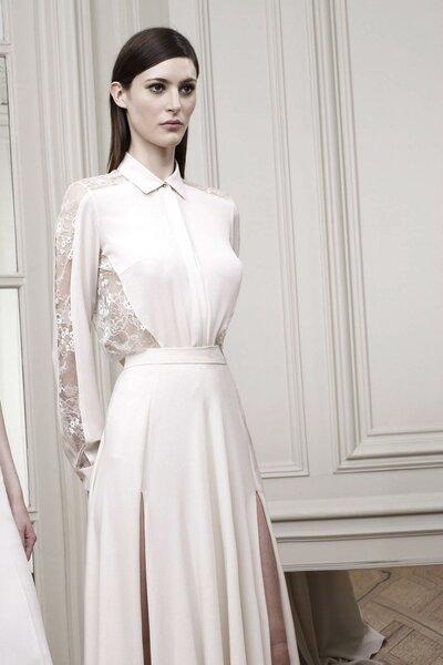 Свадебное платье-рубашка Elie Saab 2015 Resort
