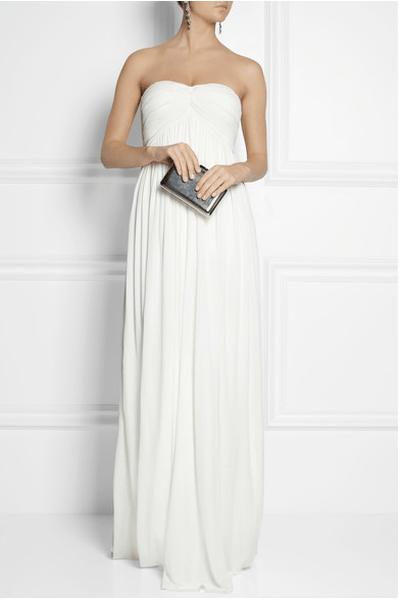 Plisados y encajes que enamoran, los vestidos de novia 2014 de Sophia Kokosalaki - Foto Net a Porter