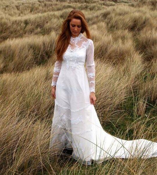 Vestidos de novia vintage de Etsy