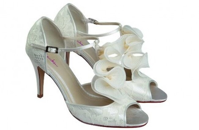 """Zapatos de novia """"Kate"""" de Rainbow Club"""