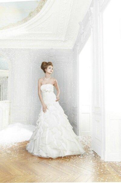 Vestidos de noiva Pronuptia 2012 - Colecção Féerie. Foto de divulgação.