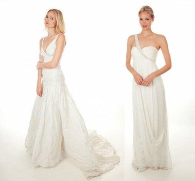 Colección de vestidos de novia sencillos de Nicole Miller - Primavera 2013