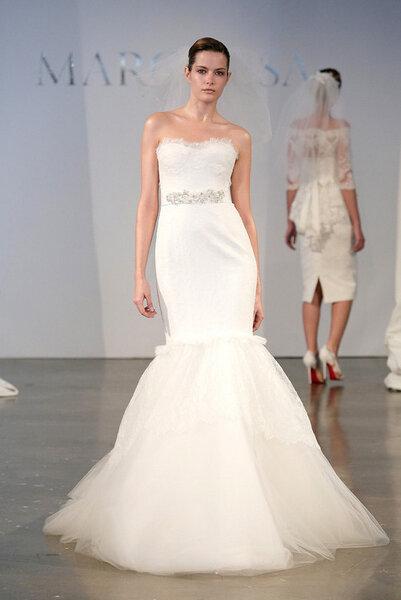Suknia ślubna Marchesa 2014