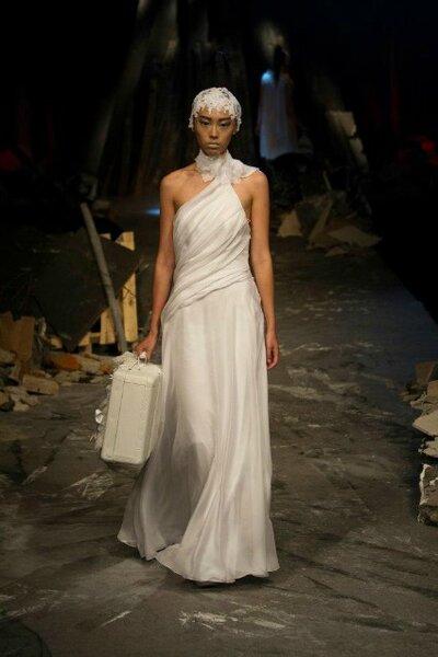 Robe de mariée David Fielden, collection 2012