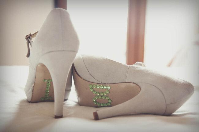 Chaussures de mariée - 35mm Fotógrafas