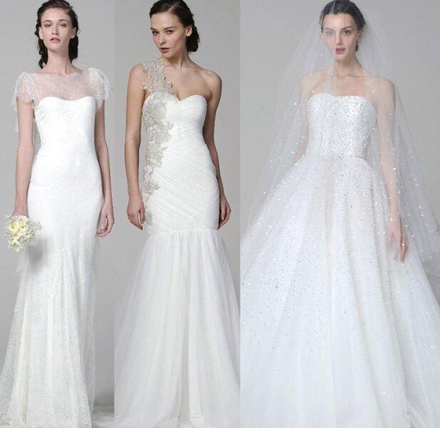 Außergewöhnliche Brautkleider von Marchesa