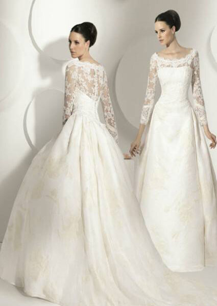 Vestidos de novia Franc Sarabia 2012