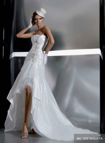 Kurzes Brautkleid von Gritti Spose