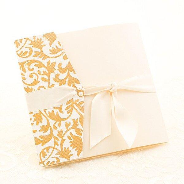 Invitación de boda Coco Deluxe de Azul Sahara