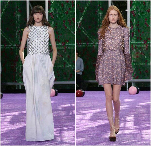 Dior le da paso a lo bohemio con vestidos mini y maxi estampados, una combinación de simplicidad y lujo para una invitada que ama los detalles