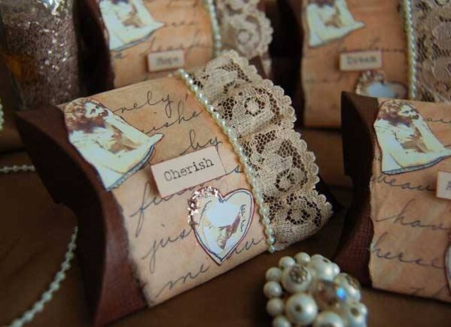 Beach Themed Favour Boxes Uk