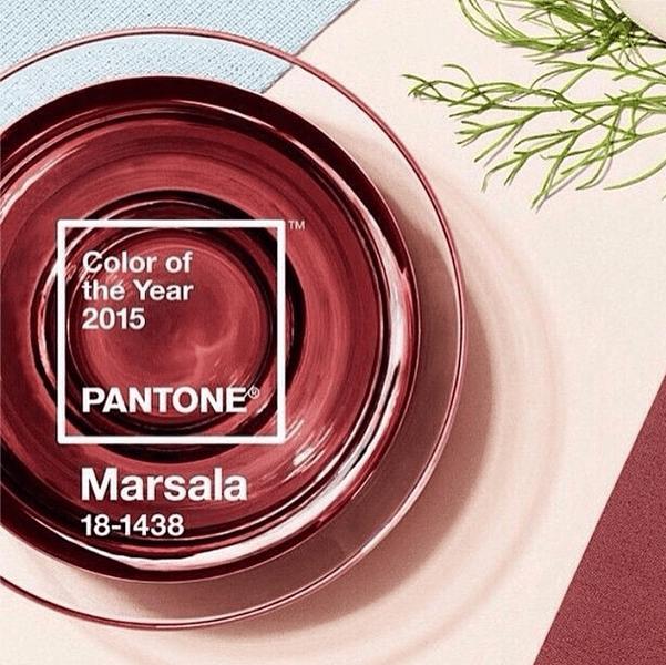 Color marsala Pantone, elegido para 2015.