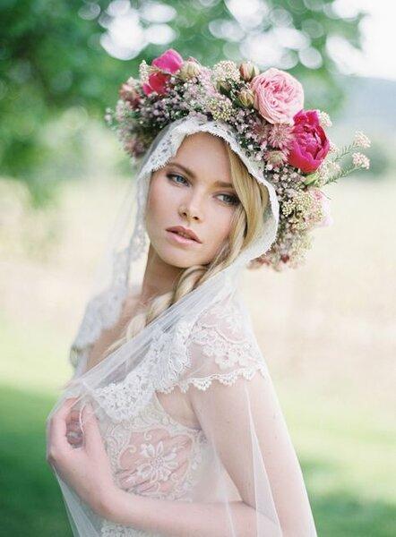 Coroa de flores XL - Foto Greg Finck