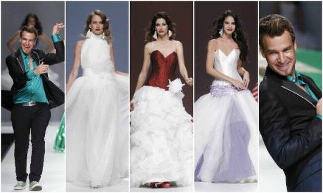 Coleção de vestidos de noiva Jordi Dalmau 2013. Fotos: Ugo Camera / Barcelona Bridal Week