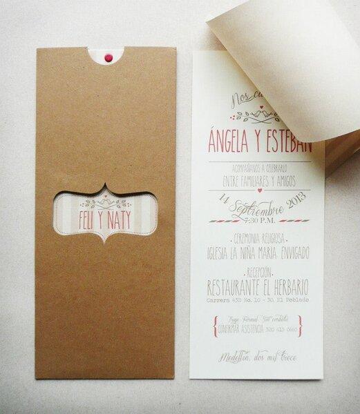 Como hacer tarjeta de casamiento imagui - Como hacer tarjetas de boda ...