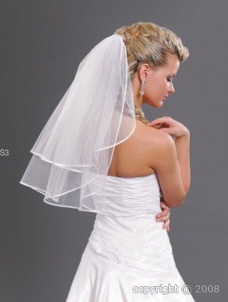 Voile de mariée court