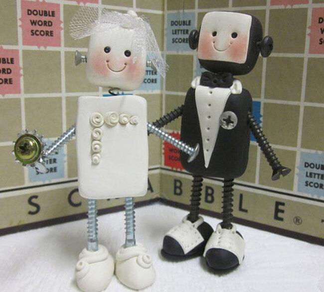 Figuras de pastel de bodas