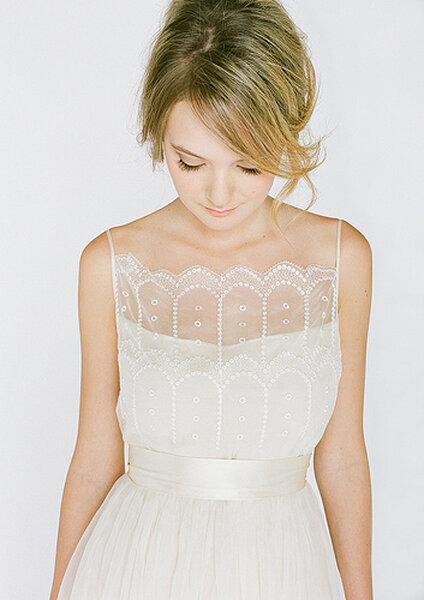 Vestidos de novia delicados
