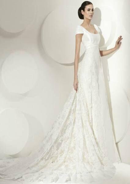 Vestido de noiva Franc Sarabia 2012. Foto: Franc Sarabia