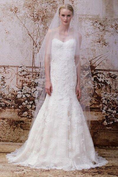 Vestido de novia ajustado