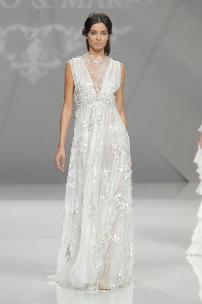 25 robes de mariée coupe empire pour 2017