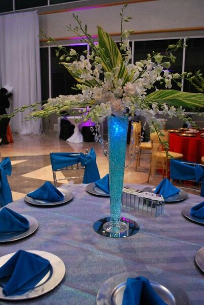 Décorations de Mariage Bleu Clair