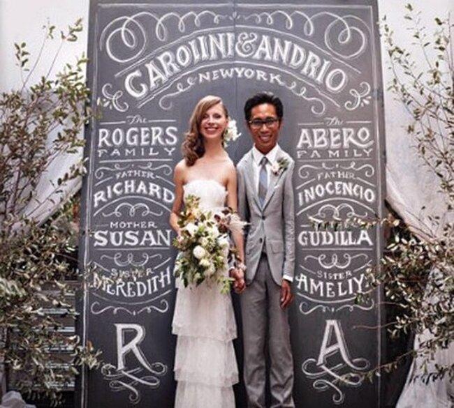 Decoración de boda de invierno con tonos neutros
