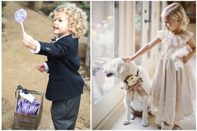 Nos encantan las  poses que ponen: los niños son naturales y graciosos.