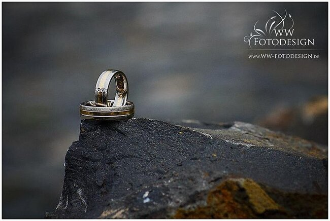 Alliances de mariage - Photo Gunther Webber