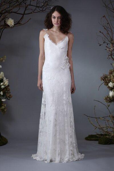 Vestido de novia 2014 con estilo vintage de Elizabeth Fillmore
