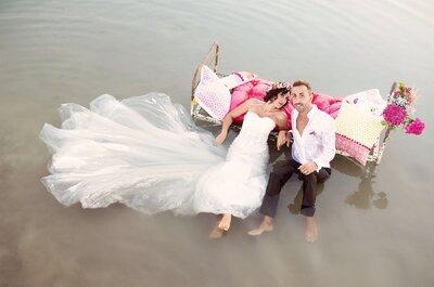 Jessica + Fabrice : Une demande romantique à Paris et un beau mariage DIY en Alsace