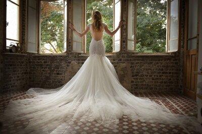 Vestidos de novia perfectos para chicas con espalda y brazos bonitos