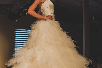 Bibi Barcellos no Bride Style 2013 - muitas surpresas e vestidos de noiva para todas as idades