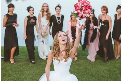 Den Brautstrauß werfen: Tipps, Trends und Alternativen zu dieser beliebten Hochzeitstradition, Leserinnen stimmen ab