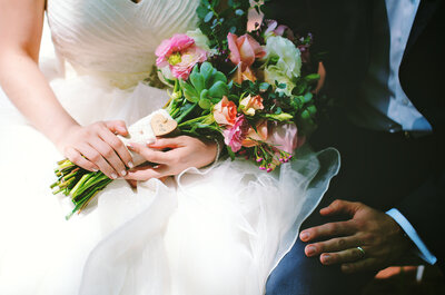 Globos, rosas, fantasía y un mágico amor: La boda más inspiradora