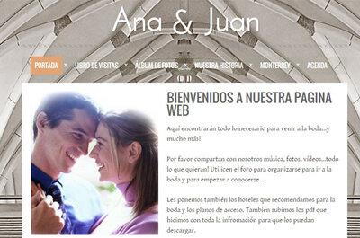 Cómo crear una web de bodas original y sin ningún costo