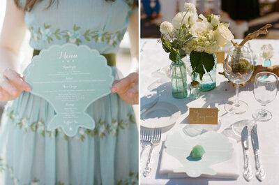 Real Wedding : Un mariage vintage chic à la française sur la côte californienne