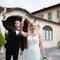 Tanja brinda a Villa Bossi, la location delle sue nozze - Alessandro Arena