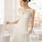 Hochzeits-Kleid: Brautkleid mit Schleife in der Hüfte
