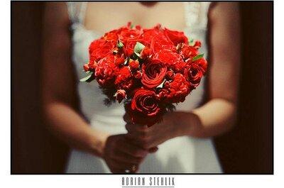 Brautsträuße in Rot