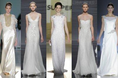 La reine de la fête à la Bridal Week de Barcelone