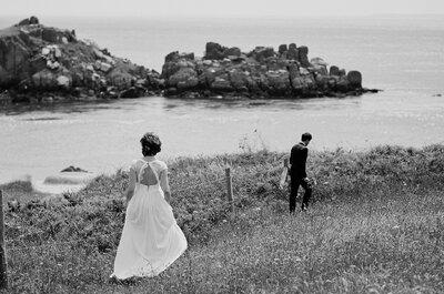 Marion + Rodolphe : Un mariage poétique façon Jane Austen au coeur de la Bretagne