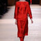 Festmode für Hochzeitsgäste: Rotes Kleid von Hermés.