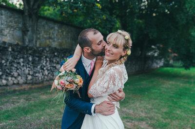 Cécile et Jean-Daniel : Des attrape-rêves, des couleurs pastel pour un superbe mariage vintage!