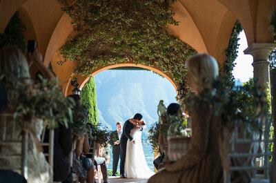 Die internationale Hochzeit von Josiane und Michael in Italien