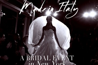 New York International Bridal Week 2014: con Sicily Fashion Project, va in scena il